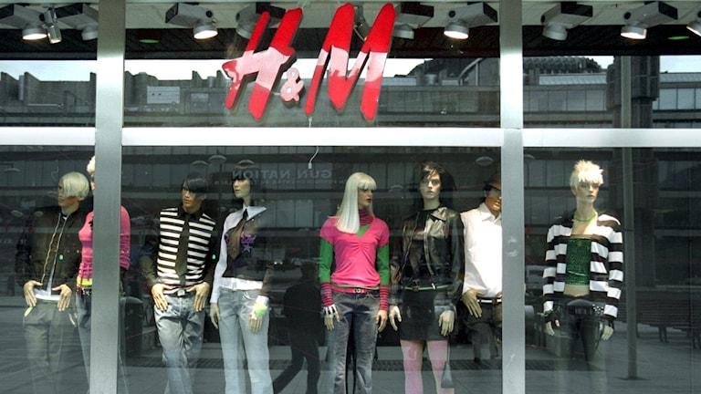 H&M-butik. Foto: Maja Suslin/TT.