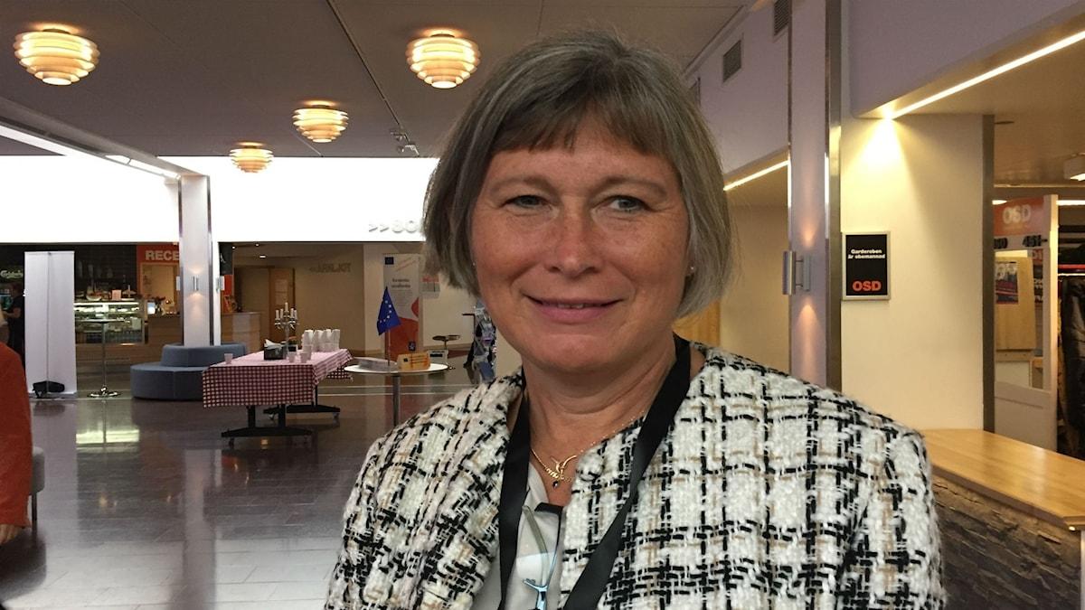 Lena Nyberg, generaldirektör för myndigheten för ungdoms- och civilsamhällesfrågor.