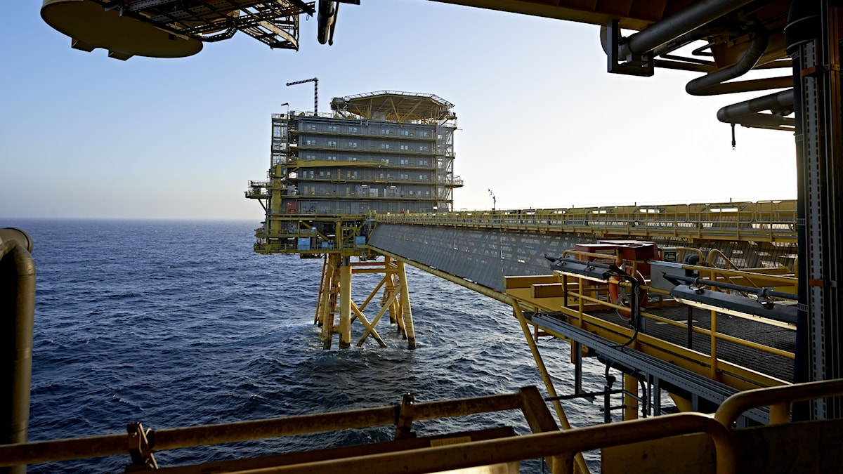 Oljerigg i Bordsjön