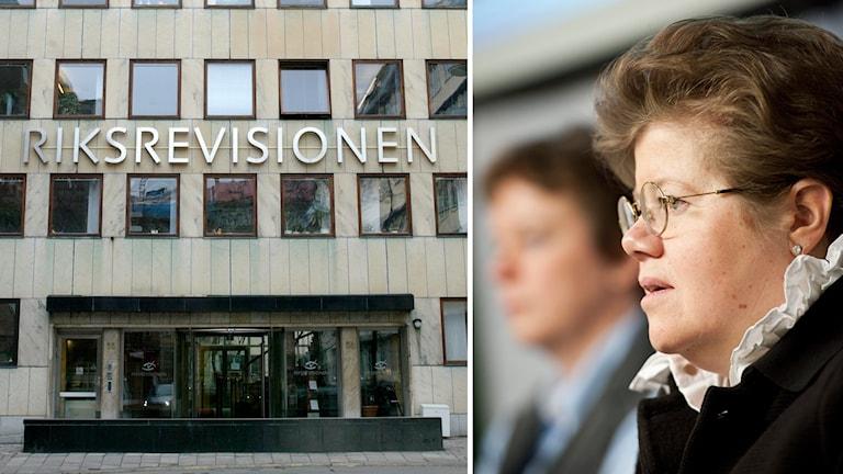 Riksrevisor Margareta Åberg har hittills gjort sig onåbar för medier.