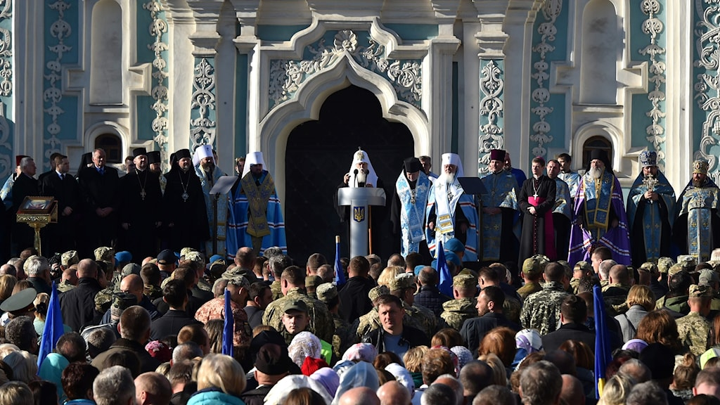 Ortodoxt kyrkomöte i Kiev.