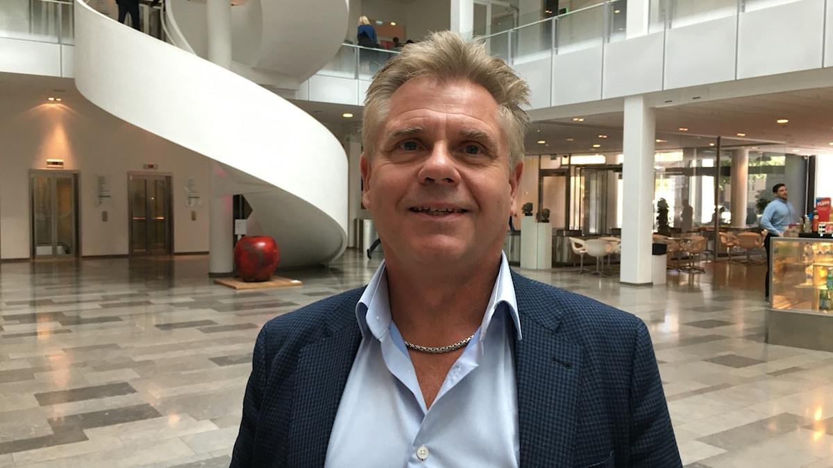 Greger Gustafson, affärsansvarig på försäkringsbolaget Skandia