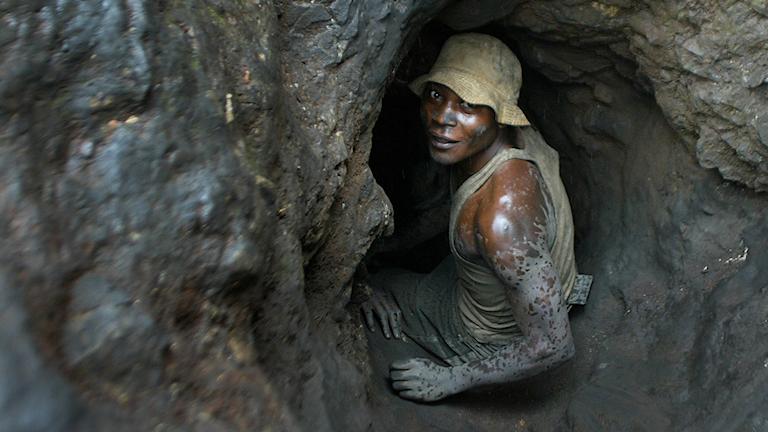 Arkivbild från en gruva i södra Kongo.