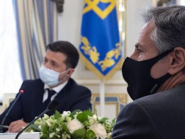 Blinken lovar fortsatt stöd till Ukraina