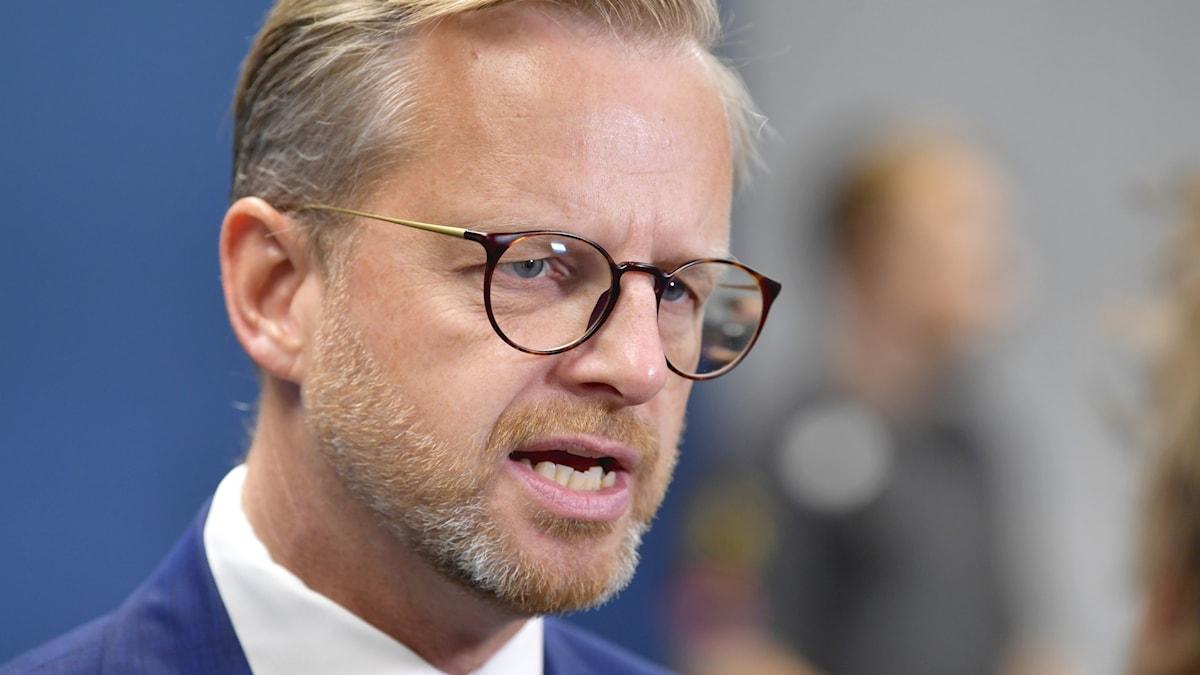 Sveriges inrikesminister Mikael Damberg