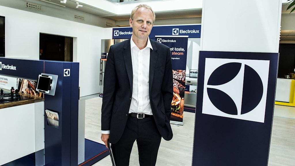 Vd Jonas Samuelson i Electrolux framtidslabb