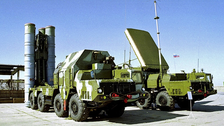 Den ryske biträdande utrikesministern Sergei Ryabkov bekräftade i dag att Moskva har tecknat kontrakt med den syriska regimen om att förse den med avancerade luftvärnsmissiler av typen S-300. Foto: Scanpix.