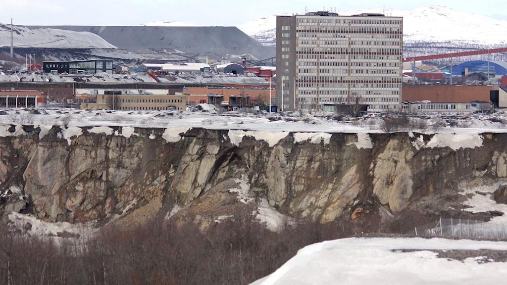 LKAB i Kiruna.