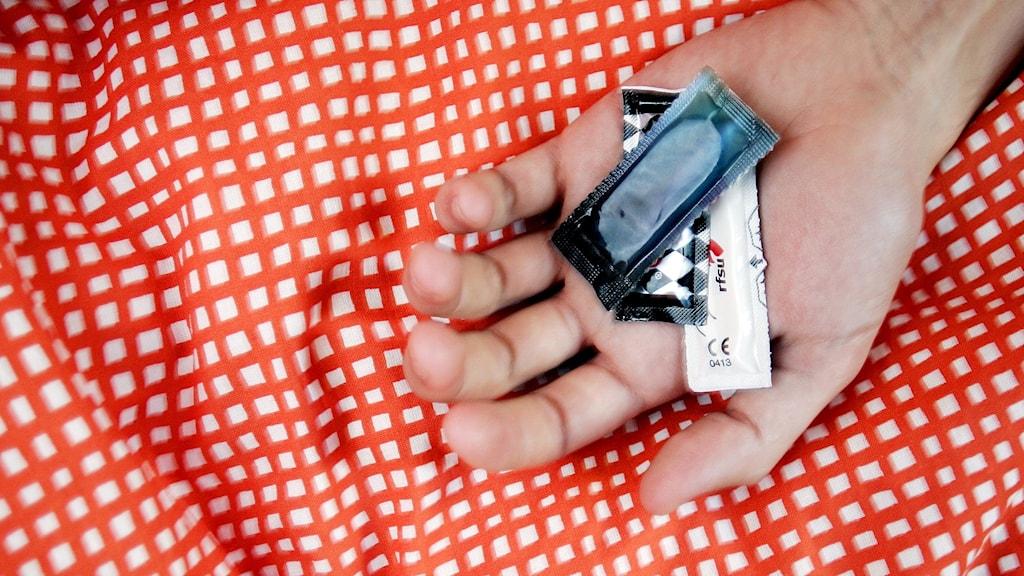 Bild på kondomer.