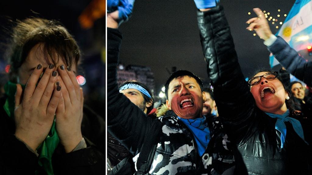 Fortsatt nej till abort i Argentina