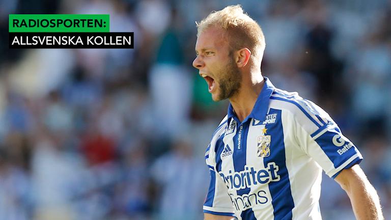 Robin Söder gjorde 2-1 till IFK Göteborg.
