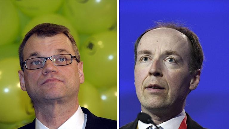 Juha Sipilä och Jussi Halla-Aho