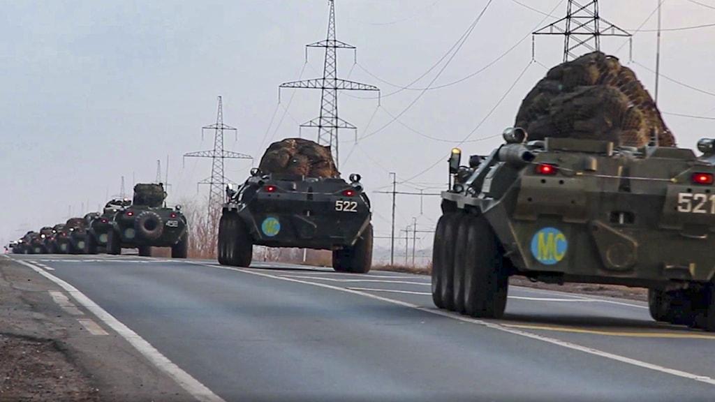 Ryska fredsbevarande styrkor