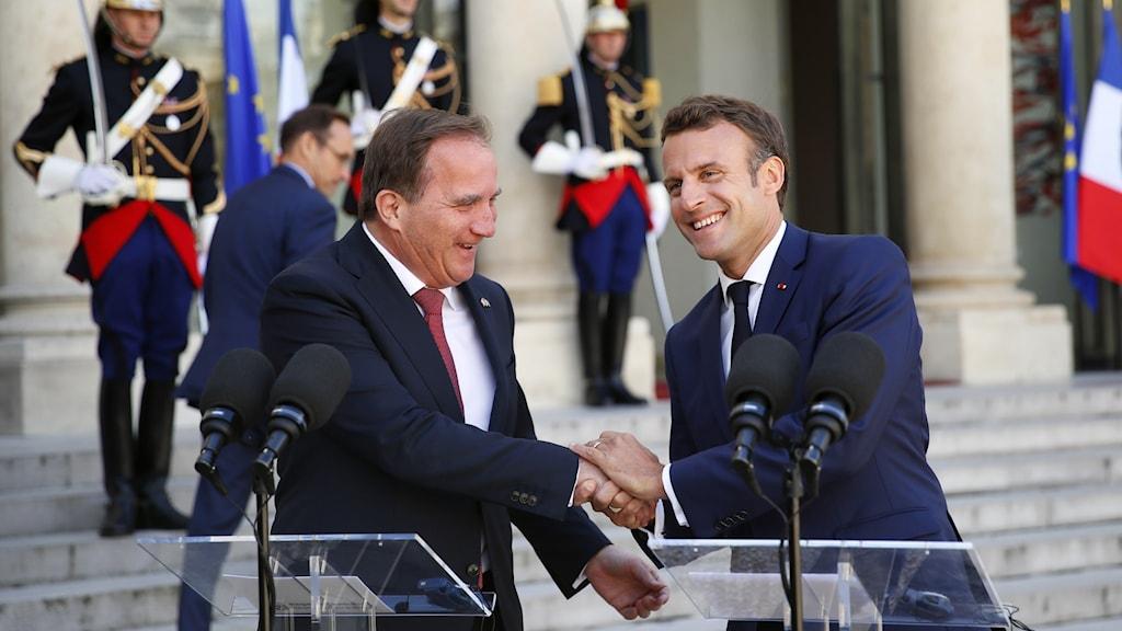 Löfven och Macron