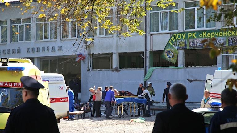 Explosion på Krim