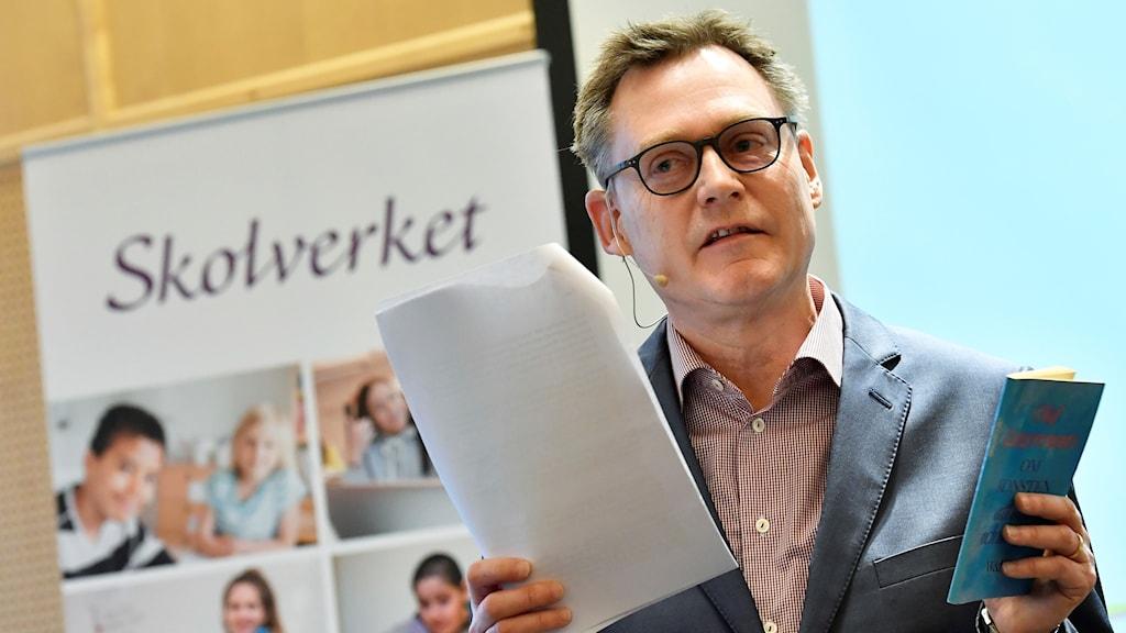 Skolverkets generaldirektör Peter Fredriksson.