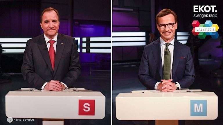 Under SVT:s partiledardebatt i går kväll var det frågan om den framtida migrationspolitiken som stack ut och bröt upp blockgränsen. S och M ser dock liknande på saken.