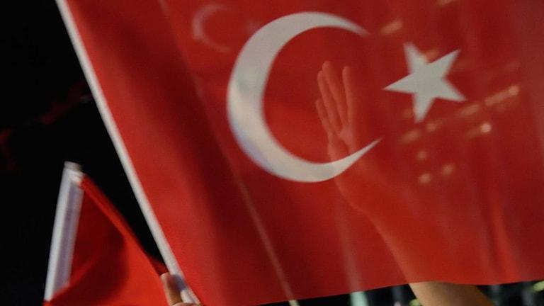 Turkisk flagga