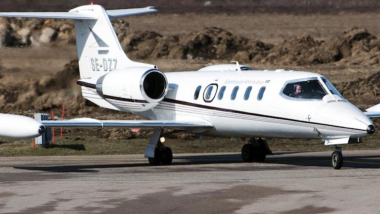 Ambulansflygplan.