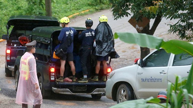 thailand, grotta, räddningsarbetare,