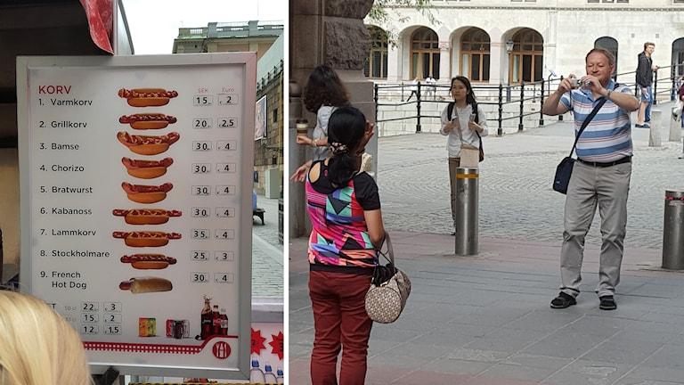 Korvpriser och turister.
