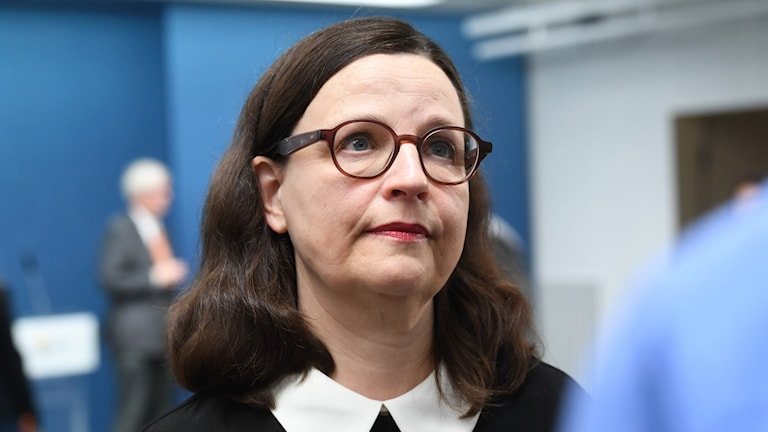 Utbildningsminister (S) Anna Ekström.