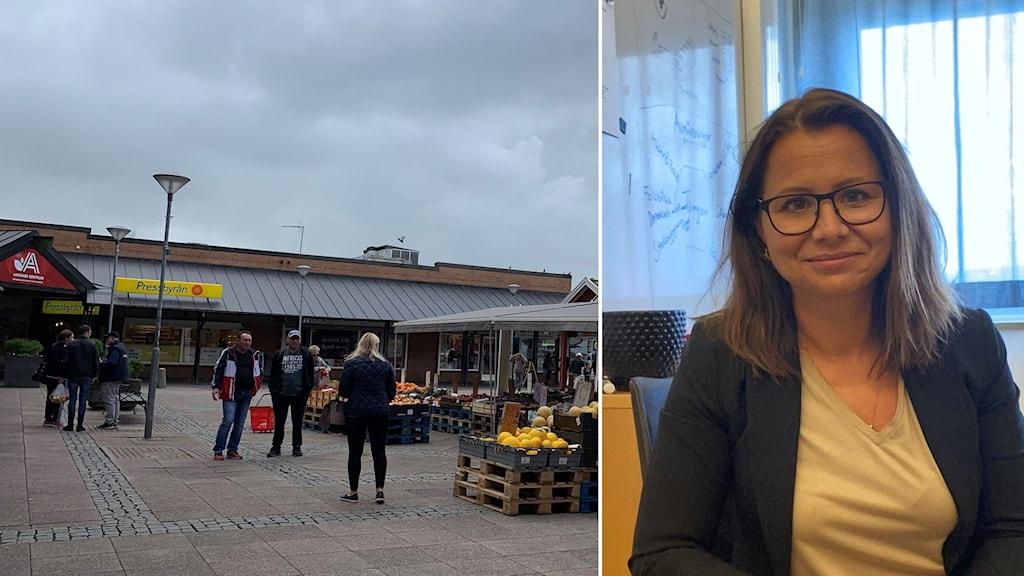 Lisa Pedersen, Trygghetschef i stadsdelsförvaltningen i Angered.