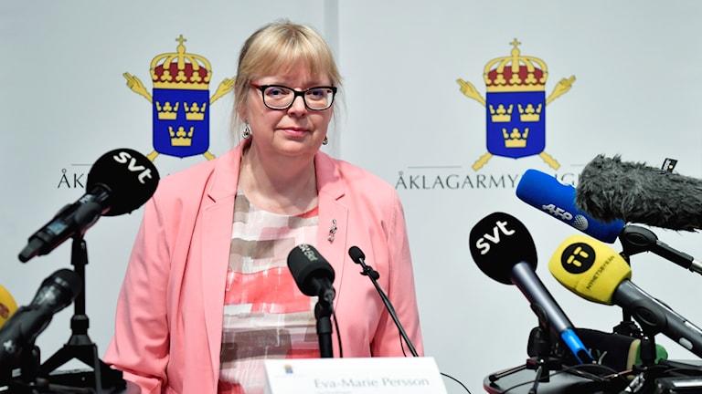 Vice överåklagare Eva-Marie Persson