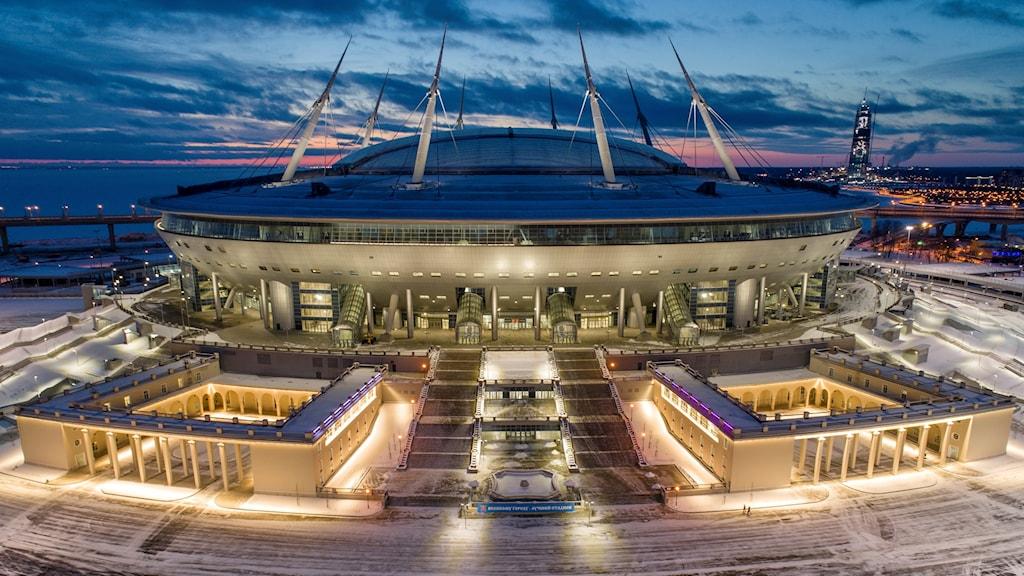En ny fotbollsarena i S:t Petersburg