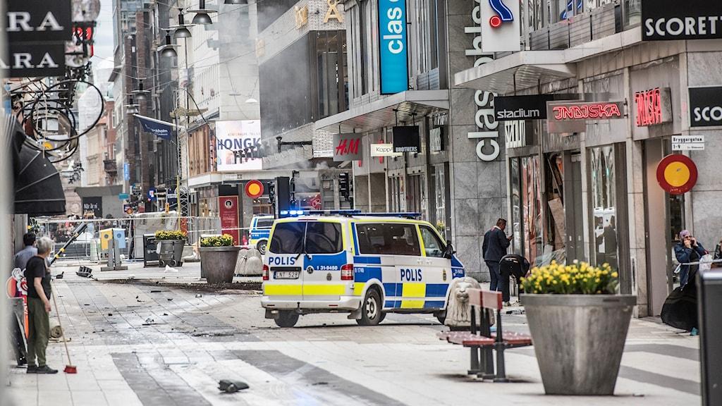 Drottninggatan, terror, Stockholm