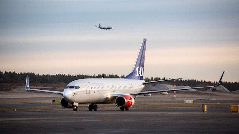 Flygplan på Arlanda. Arkivbild.