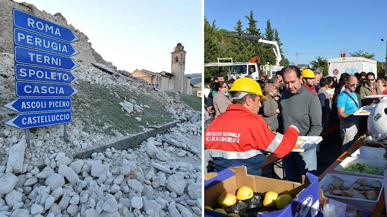 Jordbävning i Italien