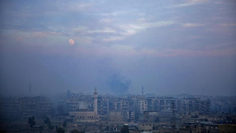 aleppo, syrien, sista striden