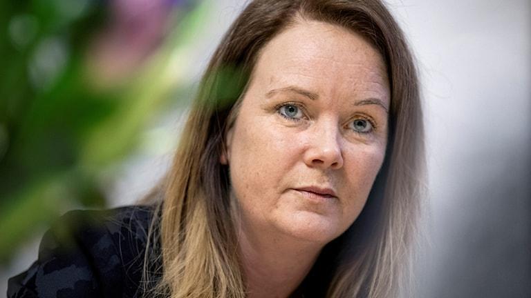 Landsbygdsminister Jennie Nilsson (S)