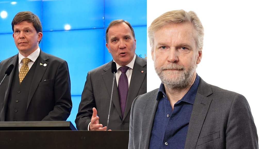 Talmannen ndreas Norlén och Stefan Löfven.