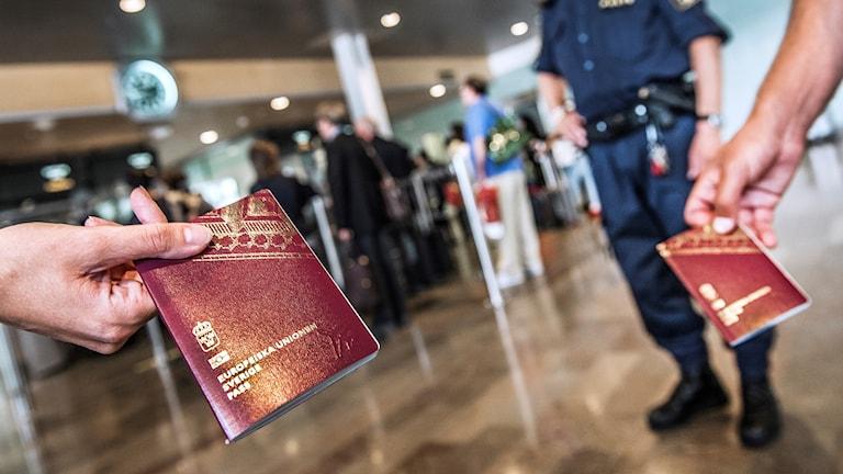 Passkontroll.