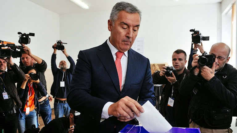 Montenegros premiärminister Milo Djukanovic.