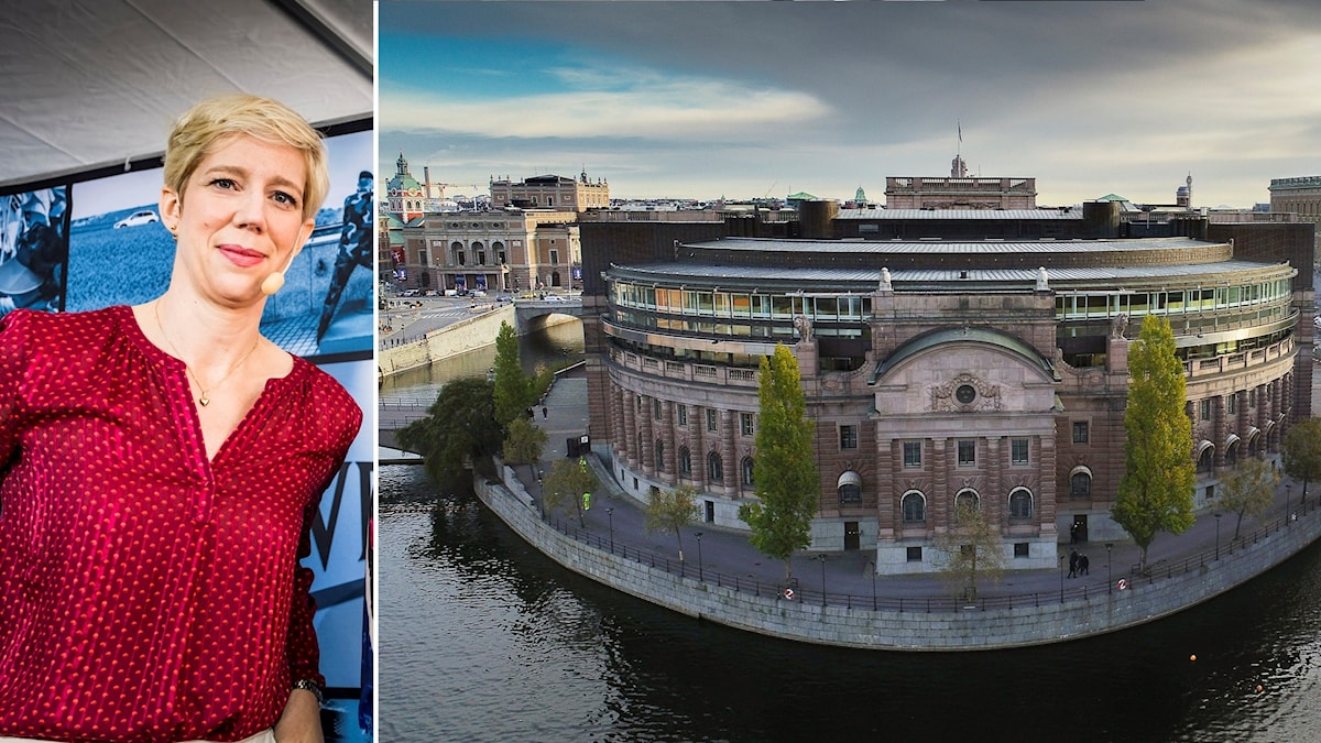 Anna Breman, chefekonom på Swedbank och riksdagshuset