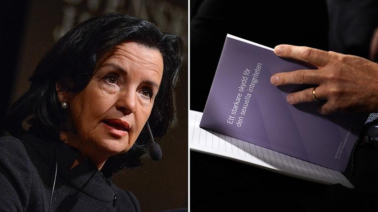 Anne Ramberg och utredningen kring samtyckeslagen