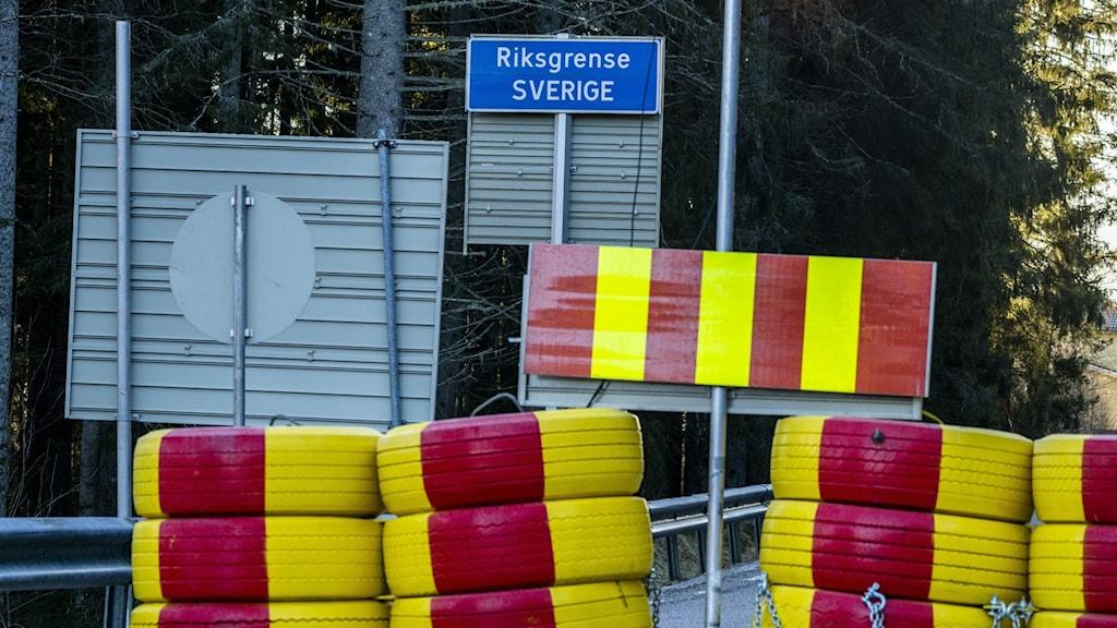Gränsövergång Sverige - Norge