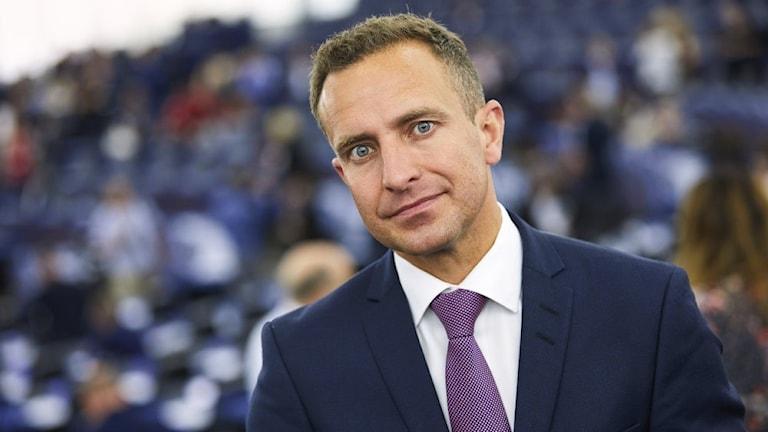 Tomas Tobé i EU-parlamentet.