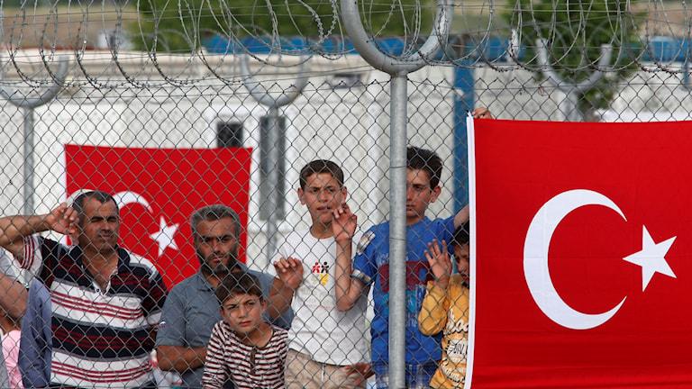 Gränsstängsel i Turkiet
