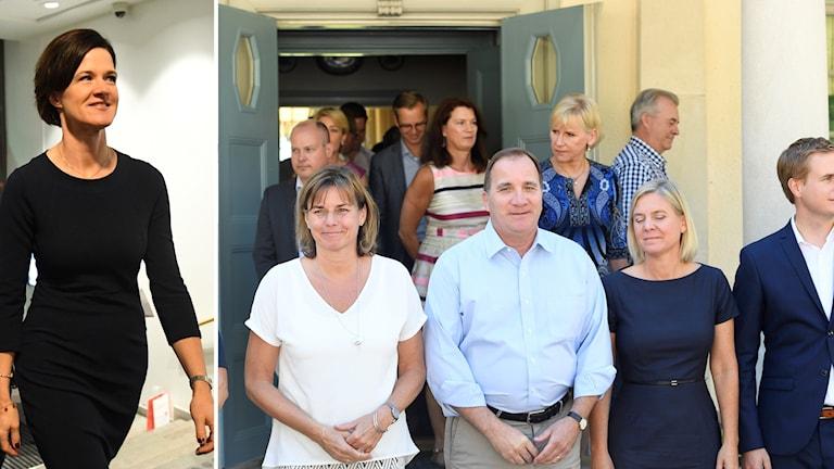 Anna Kinberg Batra är beredd att fälla regeringen innan valet.