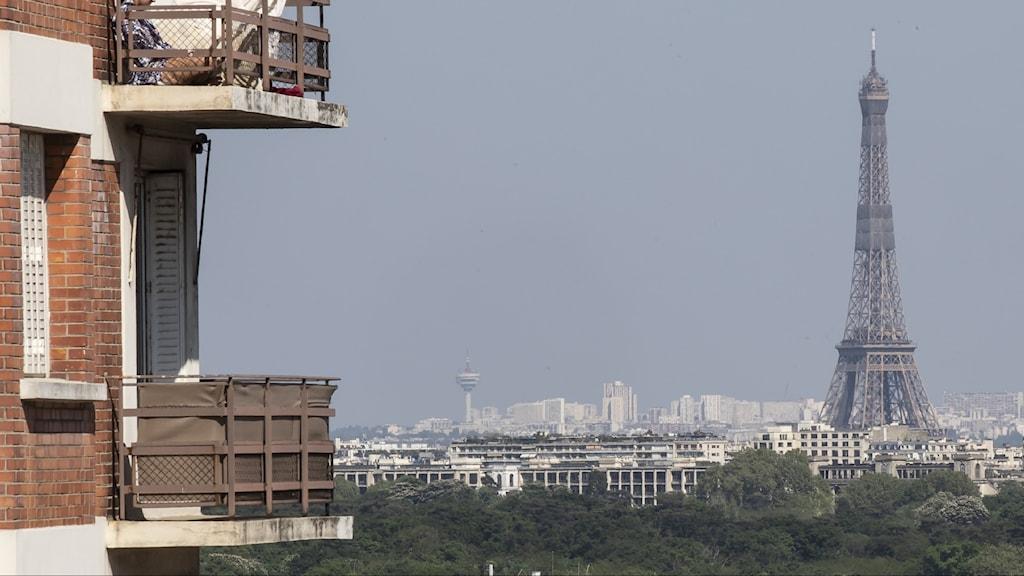 Miljöbild över Paris i Frankrike.