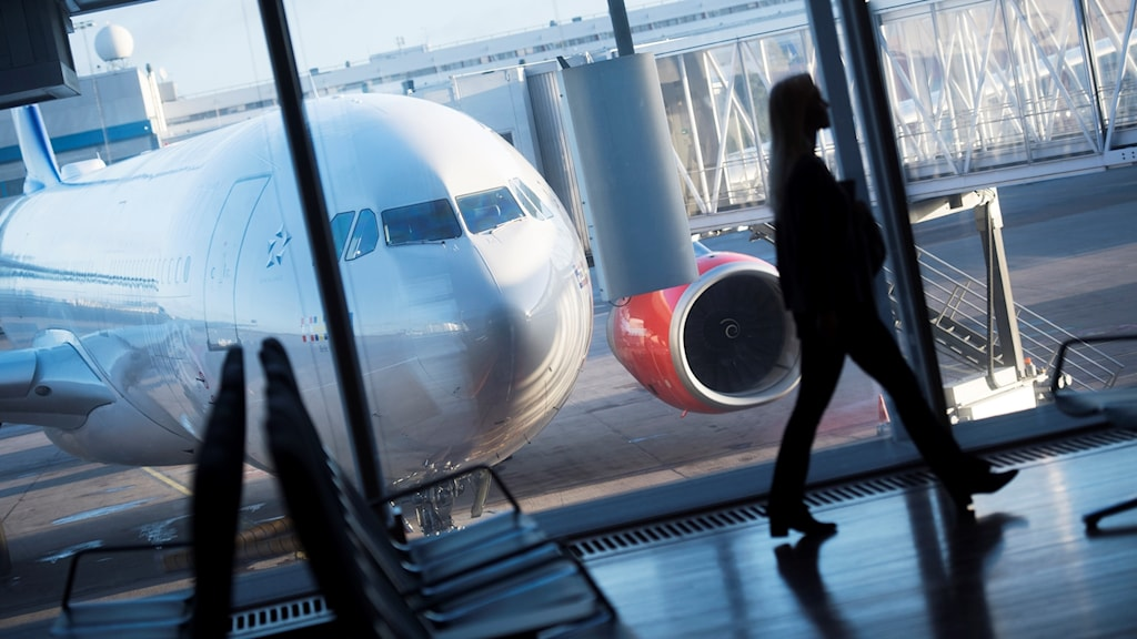 Arlanda flygplats.