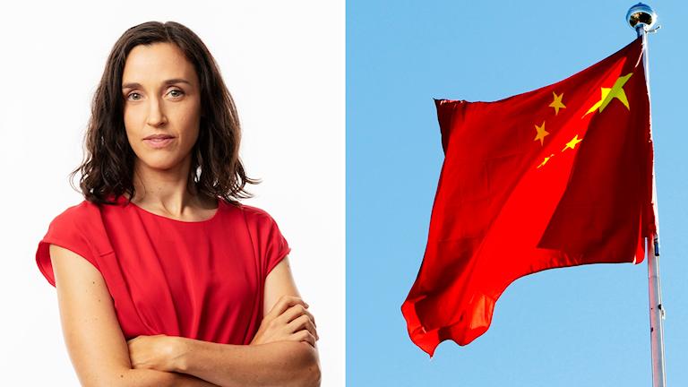 Hanna Sahlberg, Sveriges Radios korrespondent i Kina