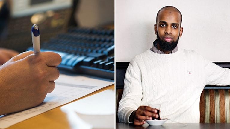 Rashid Musa, ordförande för Sveriges Unga Muslimer