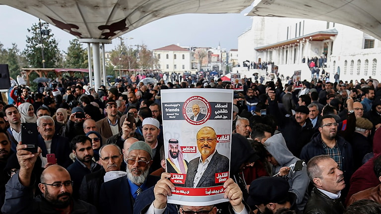 Turkiet vill gripa två för Khashoggimord.