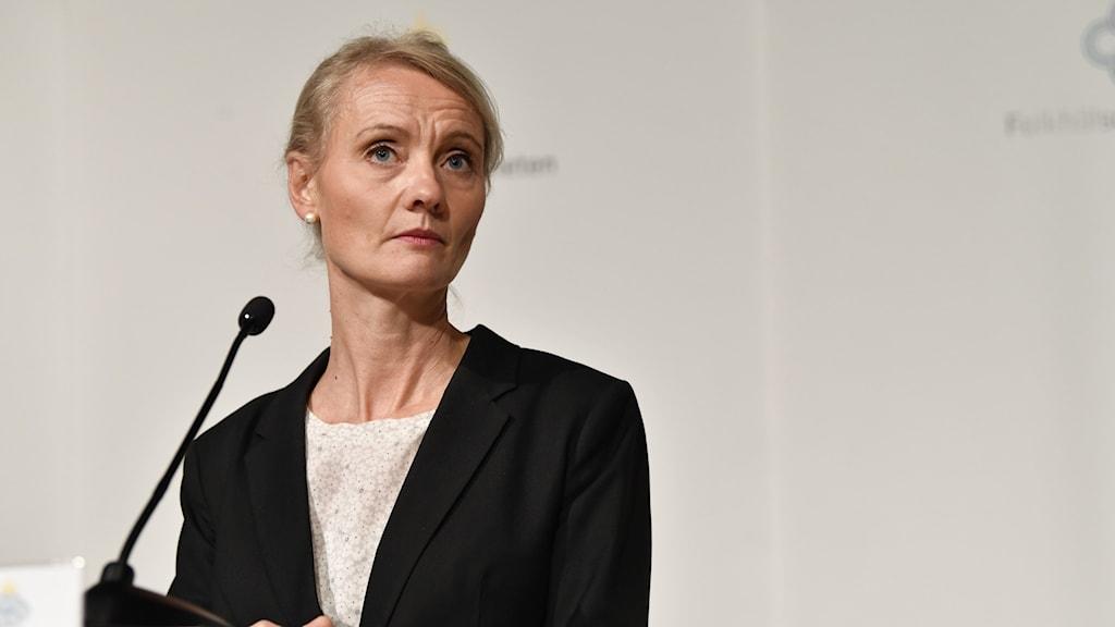 Karin Tegmark Wisell, enhetschef på Folkhälsomyndigheten
