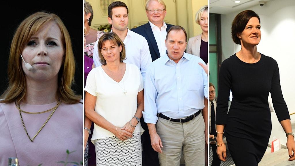 Annie Lööf avfärdar Anna Kinberg Batras utspel om att fälla regeringen Löfven innan valet